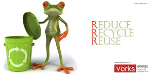 Vorks Energy - Download Wallpaper - Reduce, Recycle, Reuse